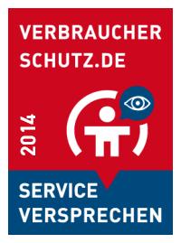 Verbraucherschutz.de Service-Versprechen