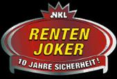 NKL Rentenjoker Logo - 10 Jahre Sicherheit! 169x115