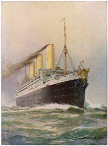 Schifffahrt auf großer Reise