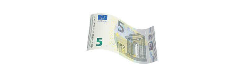 Gewinnstufe 5 €