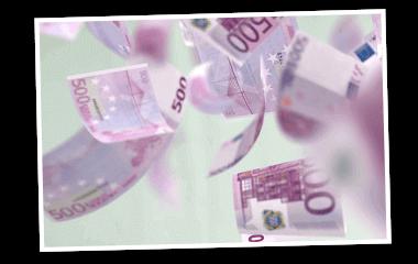 SKL Euro-Joker Rente 1.000 Euro im Monat Geldscheine 380x240