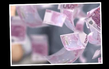 SKL Euro-Joker Gewinne Rente Geldscheine fliegen 380x240