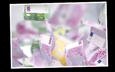 SKL Euro-Joker Gewinne Rentenlotterie Geldscheine 380x240
