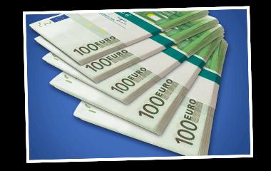 Geldscheine SKL Euro-Joker Jede Stunde Gewinne 380x240