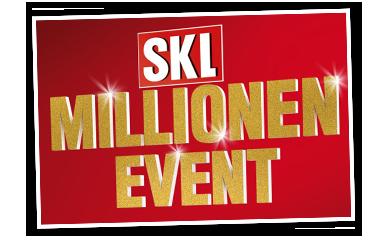 Millionen Event Logo