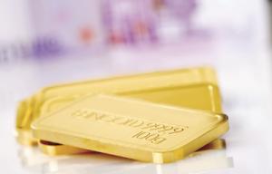 Goldbarren im Wert von 5.000 €