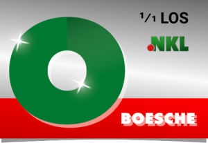 NKL-Einzelllos Darstellung von Boesche