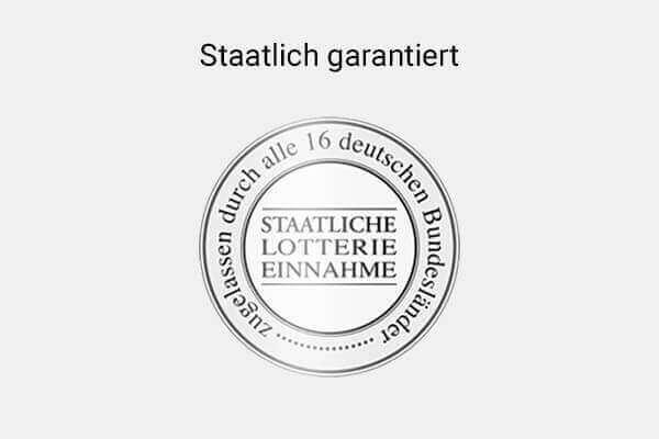 Staatlich garantiert Siegel