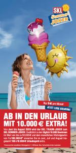 SKL TRAUM-JOKER Traumhaft – Jeden Tag 10.000 Gewinne! Flyer-Ansicht