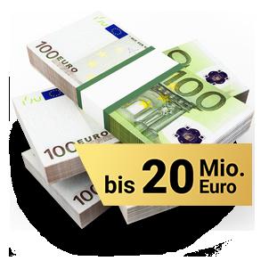 Geldkoffer - Bis zu 20 Mio. Euro