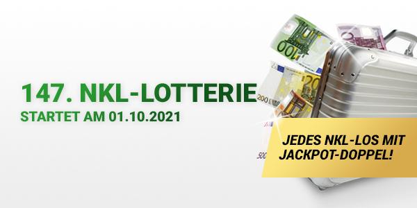 Die 147. NKL-Lotterie startet am 01.10.2021