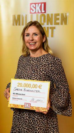 Gewinnerin SKL Millionen-Event 2020 – Sabine Bierhalter